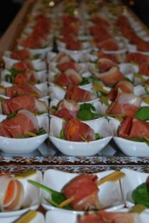 Finger food per il matrimonio che buono for Canape buffet menus