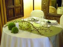 Tavolo per il matrimonio tema uva e autunno realizzato da Debraflower