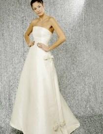 Abito da sposa disegnato da Mauro Gala - Modello Audrey Hepburn