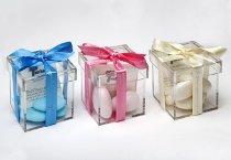 Bomboniere solidali per il matrimonio in plexiglass proposte da Telethon