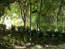 Sentiero per arrivare alla Grotta degli Amanti di Villa Lattanzi