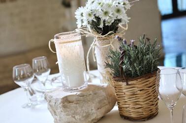 5 irresistibili idee per il centrotavola del matrimonio for Centrotavola matrimonio candele