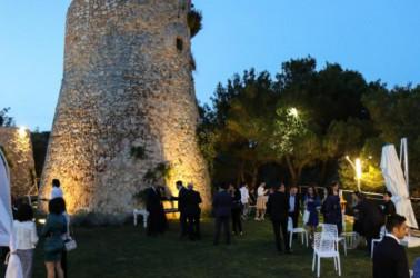 banchetto di nozze a Cala dei Balcani