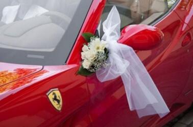 Noleggio Ferrari per matrimonio