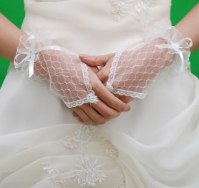I guanti per la sposa