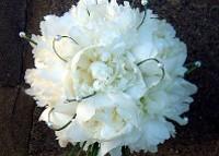 Bouquet con perle per la sposa classica