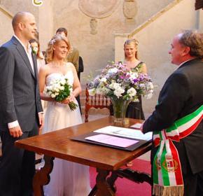 Il rito del matrimonio civile