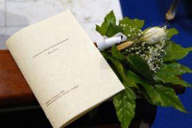 Esempio di libretto di matrimonio