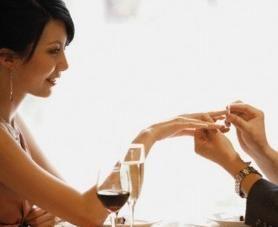 L'annuncio di fidanzamento