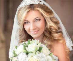 5 irresistibili tendenze per l'acconciatura da sposa 2017