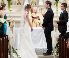 Preparazione del rito del matrimonio cattolico