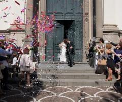 La Libellula Movies&Shots - Sposi all'uscita dalla chiesa