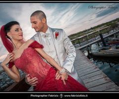 Fabrizio Foto - Foto di nozze sul pontile