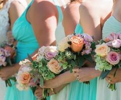 Abiti per i testimoni di nozze