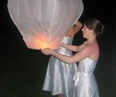Lanterne per gli sposi