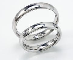 Biffi Gioielli - Fedi in oro bianco per gli sposi