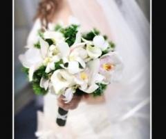 Foto del bouquet degli sposi
