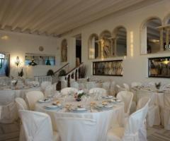 Ricevimento di matrimonio al Castello Miramare a Maccarese (Roma)
