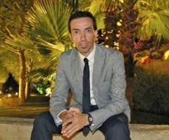 Vincenzo Sgaramella in una location di matrimonio