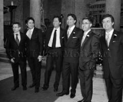 Foto degli invitati al matrimonio
