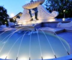 Fontana di Parco la Serra per le nozze