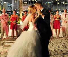 La festa da ballo del matrimonio