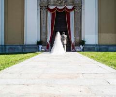 Simone Gavana Foto - Gli sposi entrano in chiesa