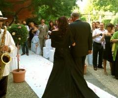Musica all'arrivo della sposa