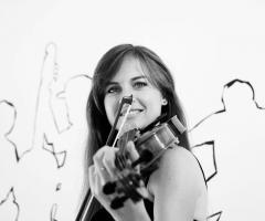 Novilunio Band - La violinista in azione
