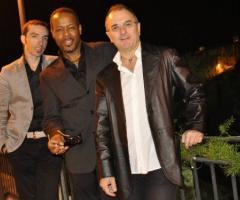 Alcuni musicisti del team di Vincenzo Sgaramella