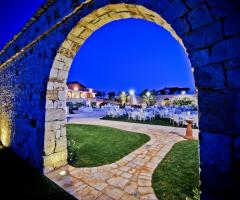 Illuminazione notturna - Parco la Serra Castellana Grotte