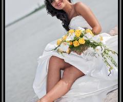 Fabrizio Foto - La sposa e il bouquet di nozze