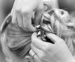 Particolare dal parrucchiere - Paola Montiglio Photography