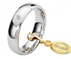 Anello originale in oro rosa e diamanti neri - Linea Schegge di Luna