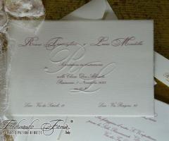 Partecipazione di nozze a Bari