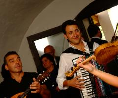 Band musicale per le nozze