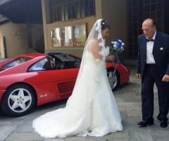 L'autista accompagna la sposa