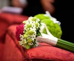 Bouquet con gambo lungo