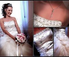 Foto della sposa a casa