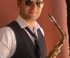 Sassofonista per il matrimonio