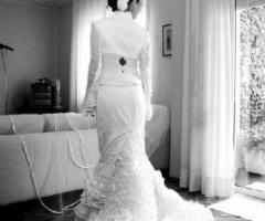 Fotografia dell'abito da sposa