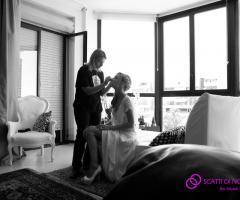 Foto dei preparativi della sposa