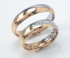 Biffi Gioielli - Fedi in oro rosso e bianco