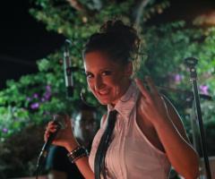 Lucia Carbonara la voce della band