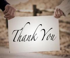 Ringraziamento matrimonio: consigli per i biglietti