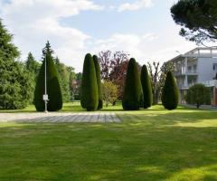 Il parco di Villa Giacomelli