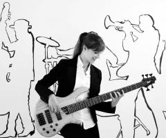 Novilunio Band - la chitarrista del gruppo