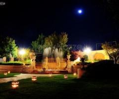 Vista notturna di Parco La Serra
