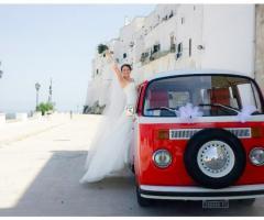 Antony Live - Sposa  su auto d'epoca