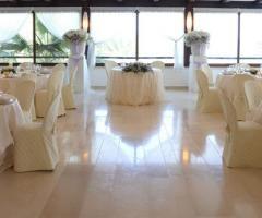 Sala interna per il ricevimento di nozze